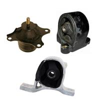 2002-2005 Honda Civic A/T Engine Motor Mount 3pc Kit Witout CVT Transmission