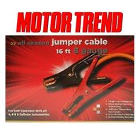 Motor Trend MTA816-CCA 16-Foot All Season Jumper Cables 500AMP 8 Gauge