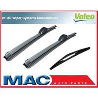 2009 Kia Borrego Front & Rear Valeo Wiper Blades