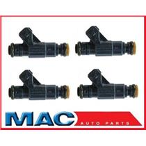 (4) AUS Injection Inc. MP40092 Remanufactured Multi Port Injector 01-05 Audi A4 & A4Q 1.8L Turbo