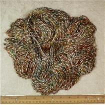Hand spun sari silk/ viscose yarn 198 g 7 oz  24155