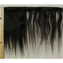 "black silky human hair weft 8"" x 42"" 24178 QP"