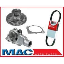 02-06 Wrangler 4.0L NEW Water Pump Fan Clutch Belt