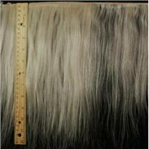 """mohair weft med coarse natural PFD 10-12""""x80"""" 24197 HP"""