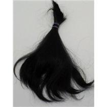 "Human hair for rooting - wigs +  doll hair black 6-8""  8 /10 oz  0.8 oz  25335"
