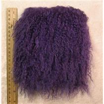 "3"" Violet tibetan lambskin 2-4"" hair corner seam wig 25036"