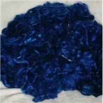 angora goat Mohair bulk dyed royal blue 2R 1 oz 24593