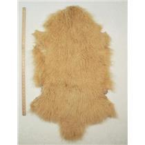 Quarter pelt Yellow Gold Tibetan lambskin  24617