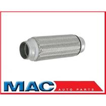 "1 3/4"" x 4"" Flex Pipe Tube Stainless Steel Inner Braid"