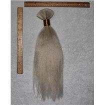 "Yak hair Bulk natural PFD  theatrical wig making 14"" x100 g 24932 FP"