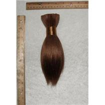 "Goat hair Bulk light warm brown 12, hair 8  7-10"" x100g 24936 FP"
