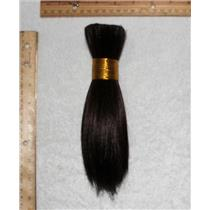 "Goat hair Bulk brown 2, hair  7-10"" x100g 24938 FP"
