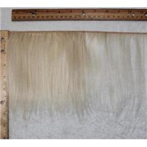 "mohair weft coarse Natural undyed 60 straight  6- 8""x 30"" 25428 QP"