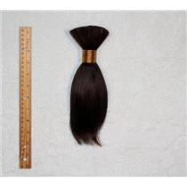 "Goat hair Bulk Dark brown 2B, hair 8  7-10"" x 100g 25261 FP"