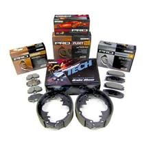 *NEW* Front Ceramic Disc Brake Pads with Shims - Satisfied PR1044C