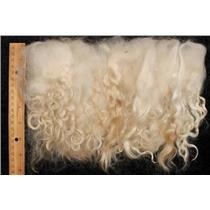 "mohair washed white adult angora goat 5-8""  1.5  oz 25284"