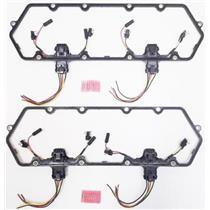 Austekk - K-6584-AOx2 - Valve Cover Gaskets w/Injector & Glow Plug Harness