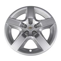 "Factory OEM Chevy Malibu 17"" 5 Spoke Wheel Cover Hub Cap Silver New SET"
