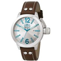 Invicta 7322 Signature Sport Quartz Brown Leather Strap Mens Watch