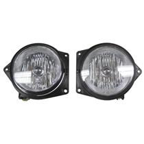 Genuine OEM Hummer H3 H3T Fog Light Assembly Late Design Lamp Pair Set