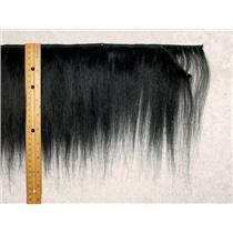 "Yak hair weft Black straight fine yak  double row 6-8"" x 100 "" 25460 FP"