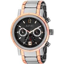 August Steiner AS8009RG Mens Quartz Chronograph Stainless Steel Mens Watch