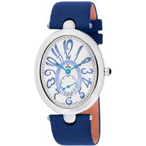 August Steiner AS01BU Eternity Swiss Quartz Blue Strap Womens Watch