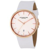 Stuhrling  244 334P2 Classic Fairmount Swiss Quartz Date Ultra Slim Mens Watch