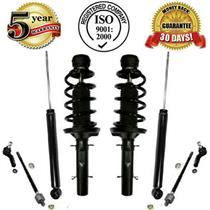 Front Strut & Coil Spring Assembly & Rear Shocks + Tie Rod Assembly W/Warranty