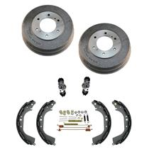 (2) 35019 Rr Brake Drum Brake Shoes & Springs Wheel C Fits Pathfinder QX4