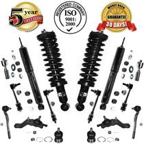 Front Strut Coil Spring Assembly & Rear Shock + Suspension Steering Chassi Kit