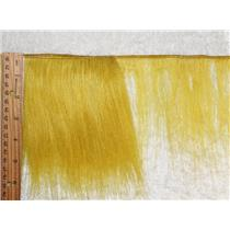 "mohair weft  coarse unglazed ,yellow Gold straight hair 5-7x 45""  25563 QP"