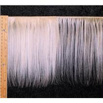 "mohair weft coarse natural undyed straight 7-9 x 200"" 90-100g 25598 FP"