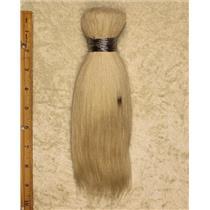 "Goat hair Bulk natural Bleached color 60  4-8"" x 90-100g 25617  FP seconds"