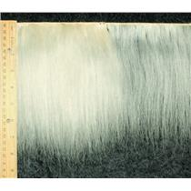 """Yak hair weft natural PFD theatrical wig making 7-8 """"x 67"""" 25579 HP"""