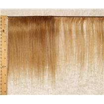 "mohair weft coarse Strawberry blonde 27 straight 7-9"" x 100"" 45-50g  25657 HP"
