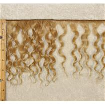 "mohair weft coarse light golden blonde 22 curly weft 7-9"" x 50"" 20-25 g 25628 QP"