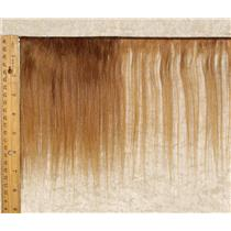 "mohair weft coarse Brown 12 straight 7-9 x 200"" 90-100 25647 FP"