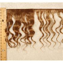 "mohair weft coarse Brown 12 wavy weft 7-9x200"" 90-100g 25650 FP"