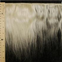 "mohair weft Undyed coarse straight 8 x 43"" 24079 HP"