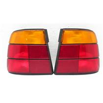1989-1995 BMW HELLA TAIL LIGHT LENS LEFT THK 88 SAE AIST 87