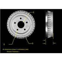 (1) 9 Inch REAR 8952 Brake Drum