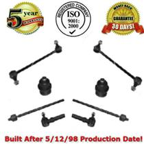 FRONT SUSPENSION CHASSI STEERING KIT TIE RODS SWAY LINK BALL JOINT 8PC