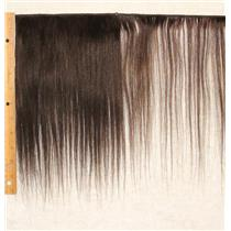 "Camel hair weft  deep brown 4 straight 11-12 x 35"" 20-25g 25701 QP"