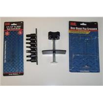 Disc Brake Installation Tool Kit Caliper Spreader