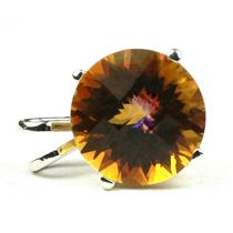 SP089, Twilight Fire Topaz 925 Sterling Silver Pendant