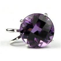 SP089, Amethyst 925 Sterling Silver Pendant