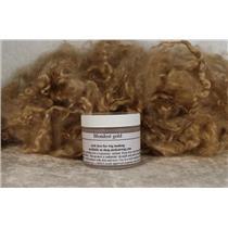 Blondest gold Wig making dye Jar,will Dye 5 lb mohair 25722