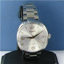 Fendi Fendimatic F201016000 Silver Dial Automatic 42mm Steel Watch NWT $2195
