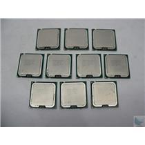 Dealer Lot of 10 Intel Core 2 Duo 2.66GHz 775 CPU Processor SLAPB EU80571PH0673M